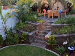 Country Backyard Landscaping Ideas by Raised Patio Made From Country Manor Keystone Walls Wonderful