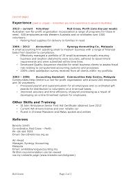 Skill Based Resume Template Sample Resume Australia Resume For Your Job Application