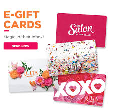 e giftcards gift cards egift cards and giftcards ulta beauty