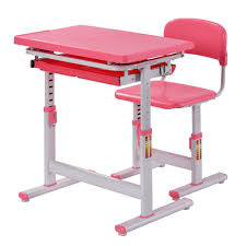 Kid Desk And Chair Rack 2 Pink Ergonomic Adjustable Desk And Chair