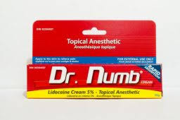 dr numb topical numbing cream for tattoo removal