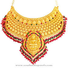 jewelry necklace design images Lalithaa jewellery bridal gold necklace design necklace designs jpg
