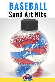 colored sand baseball bottle parks bottle and sand art
