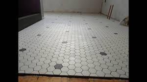 Tiles For Bathroom Floor Hexagon Mosaic Floor Tile Hexagon Mosaic Bathroom Floor Tiles