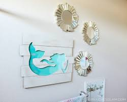 mermaid themed bathroom mermaid bathroom decorations house decor ideas vozindependiente