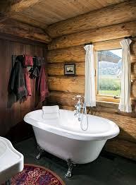 76 best log home bathrooms images on pinterest bathroom ideas