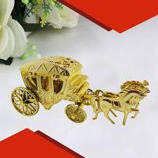 aliexpress buy new arrival 10pcs silver gold 2016 new 10pcs silver royal horses cart candy box royal carriage