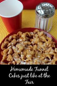 131 best funnel cakes images on pinterest funnel cakes recipe