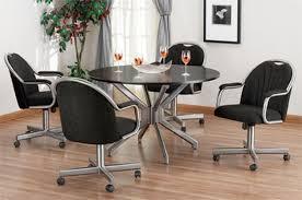 Chromcraft Furniture Kitchen Chair With Wheels Chromcraft Furniture Kitchen Chair With Wheels Ppi