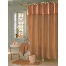 Brown And Gold Shower Curtains The Cheap Shower Curtains For Small Spaces