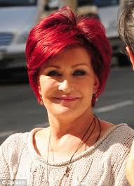 how to get sharon osbournes haircolor scarlet women from copper to cherry why red hair is the