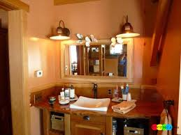 Small Bathroom Fixtures Lighting Small Bathroom Sink And Wall Mirror Also Rustic Bathroom