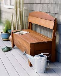 How To Build Patio Furniture Bench Outdoor Storage Seating Bench The Storage Home Guide Part