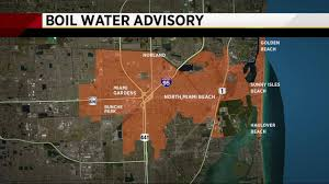 Crime Map Miami by Precautionary Boil Water Notice Issued For North Miami Beach