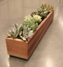16 minimalistic handmade wooden planter designs wooden planters