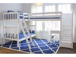 maxtrix med high corner loft bunk w ladder u0026 stairs long island ny