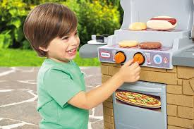 amazon com little tikes cook u0027n play outdoor bbq toys u0026 games