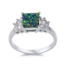 black opal engagement rings cheap emerald and opal ring find emerald and opal ring deals on