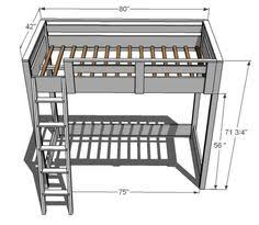 Diy Loft Bed With Desk by Diy Loft Bed Plans With A Desk Under Related Post From Loft Bed