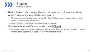 tutorial android beacon library beacons and the physical web