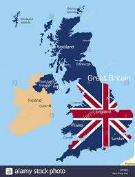England Flag Colors Map England Flag Coloured Uk Stock Photos U0026 Map England Flag