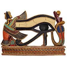 design toscano eye of horus wall sculpture amazon co uk