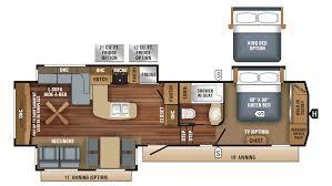 Jayco 5th Wheel Rv Floor Plans by Eagle 327ckts 5th Wheel Floor Plan