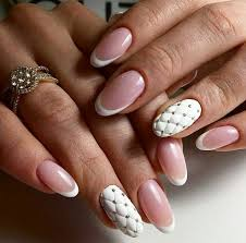 white rhinestone nail the best images bestartnails com