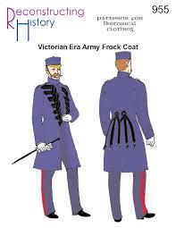 rh955 u2014 victorian era army frock coat u2013 reconstructing history