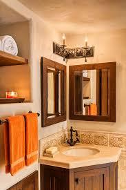 Powder Room Towels - corner mirror powder room farmhouse with retro farmhouse makeup