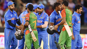 Cricket Flags Icc Champions Trophy 2017 Before Semifinal Clash Bangladeshi