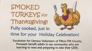 local organization to prepare thanksgiving turkeys for community