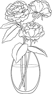 flower in vase drawing beccy u0027s place october 2011