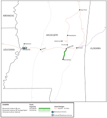 Jackson Ms Map Mississippi Southern Railroad Msr Watco Companies