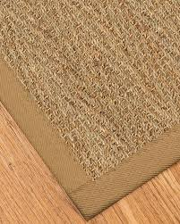 Round Seagrass Rug by Opulence Seagrass Rug Sage Khaki W Free Rug Pad Premade