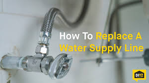 how to change kitchen faucet how to replace a water supply line youtube