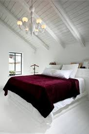Sloped Ceiling Bedroom Decorating Ideas Loft Style Bedroom Design At The Attic Small Design Ideas