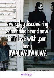 take me back to your bed discovering something brand new im in love with your body uwauwauwauwa