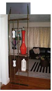 Vintage Room Divider Is It A Room Divider Is It A Pole Lamp Is It A Display Shelf