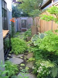 decoration amazing garden fence for small garden ideas on side yard