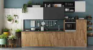 Assembled Kitchen CabinetsStraight Line Kitchen At Oppeinhomecom - Standard kitchen cabinet