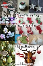 10 free knit ornament patterns