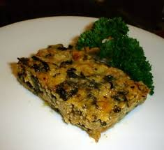 Cottage Cheese Recepies by Cottage Cheese Crustless Quiche With Spinach U0026 Turkey Sausage