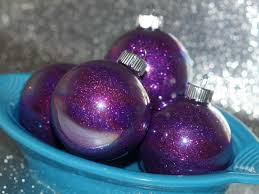 how to make glittered glass ornaments for how was your
