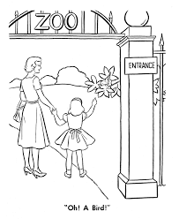 zoo coloring pages preschool zoo coloring pages for preschoolers many interesting cliparts