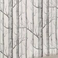 black and white wallpaper ebay black white woods wallpaper roll birch tree forest modern art