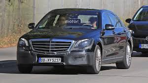 2018 mercedes s class facelift confirmed for april debut