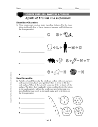 agents of erosion lesson plans u0026 worksheets reviewed by teachers