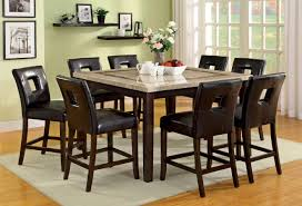 Modern Counter Height Dining Tables by Modern Counter Height Dining Tables Furniture Of America Tenor Mid