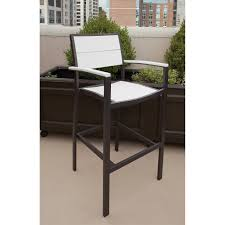 Trex Furniture Composite Table And Trex Outdoor Furniture Txs126 1 Surf City 3 Piece Bar Set